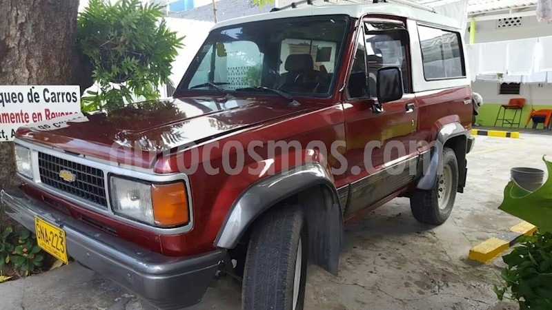 Chevrolet Trooper Dlx Full Equipo Usado 1991 Color Rojo Precio
