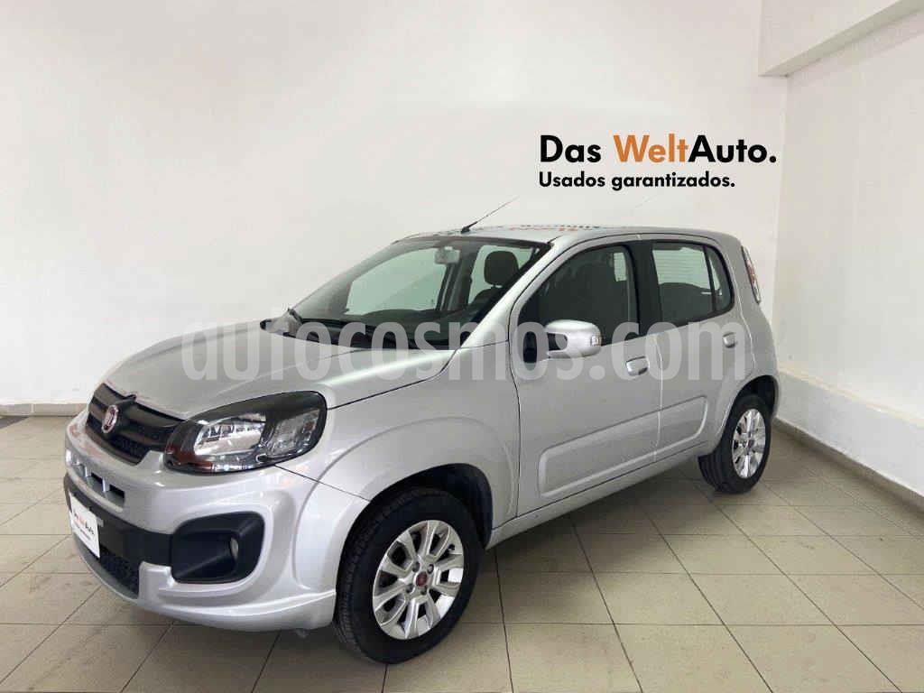 foto Fiat Uno Like usado (2018) color Plata precio $149,995