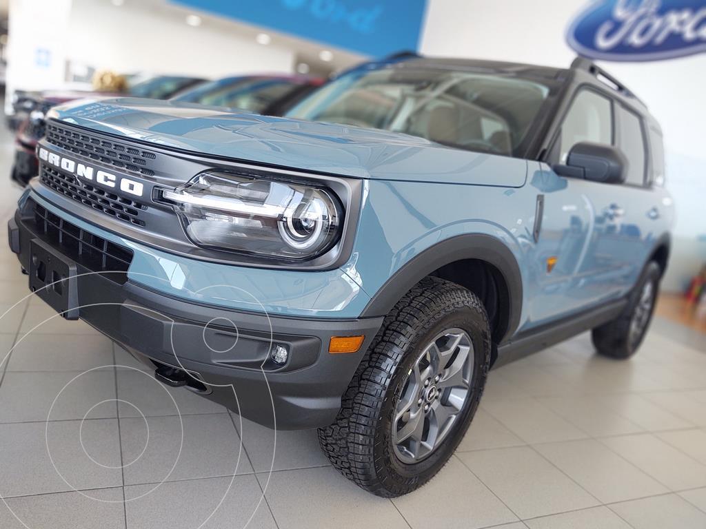 foto Ford Bronco Sport Badlands nuevo color Azul Glaciar precio $789,800