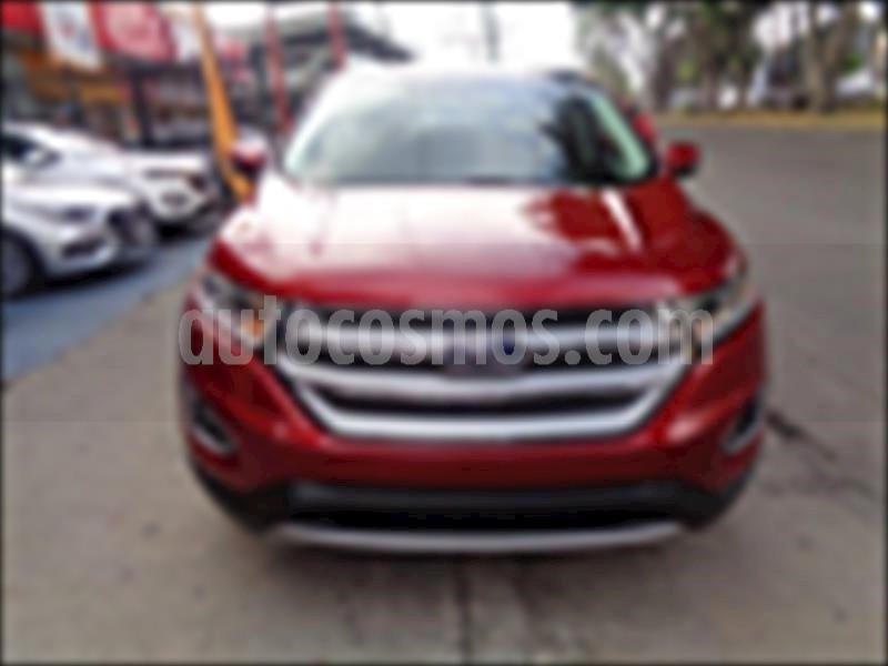 foto Ford Edge SEL Plus usado (2017) color Rojo precio $445,000