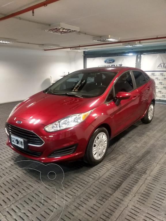 foto Ford Fiesta Kinetic Sedán S usado (2016) color Rojo precio $995.000