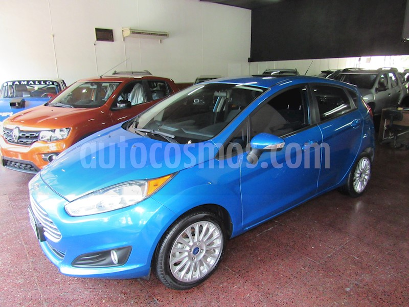Ford Fiesta Kinetic Se Plus Powershift Usado  2014  Color