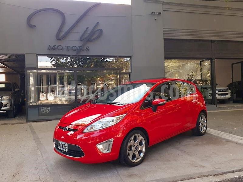 Ford Fiesta Kinetic Titanium Usado  2012  Color Rojo