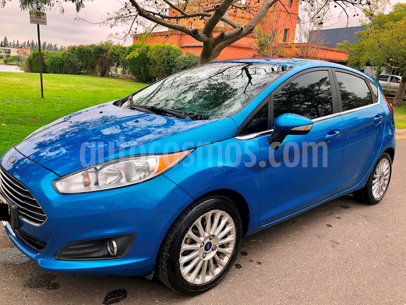 foto Ford Fiesta Kinetic Titanium Powershift usado