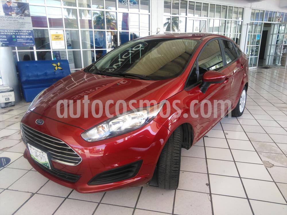 foto Ford Fiesta Sedán S Aut usado (2017) color Rojo precio $155,000