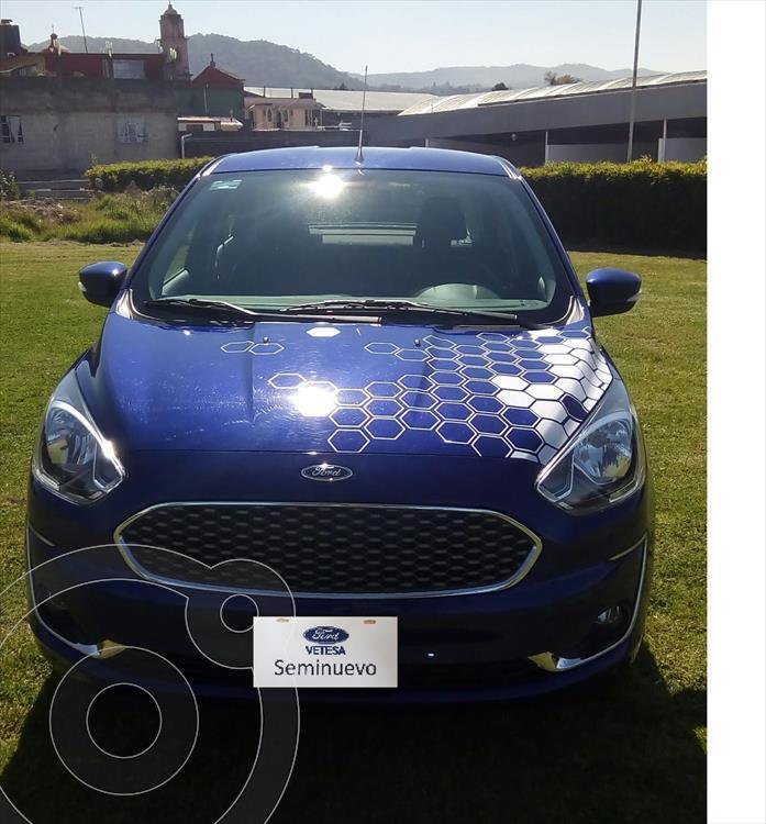foto Ford Figo Sedán TITANIUM TA 4PTAS 1.5L usado (2020) color Azul Eléctrico precio $278,000