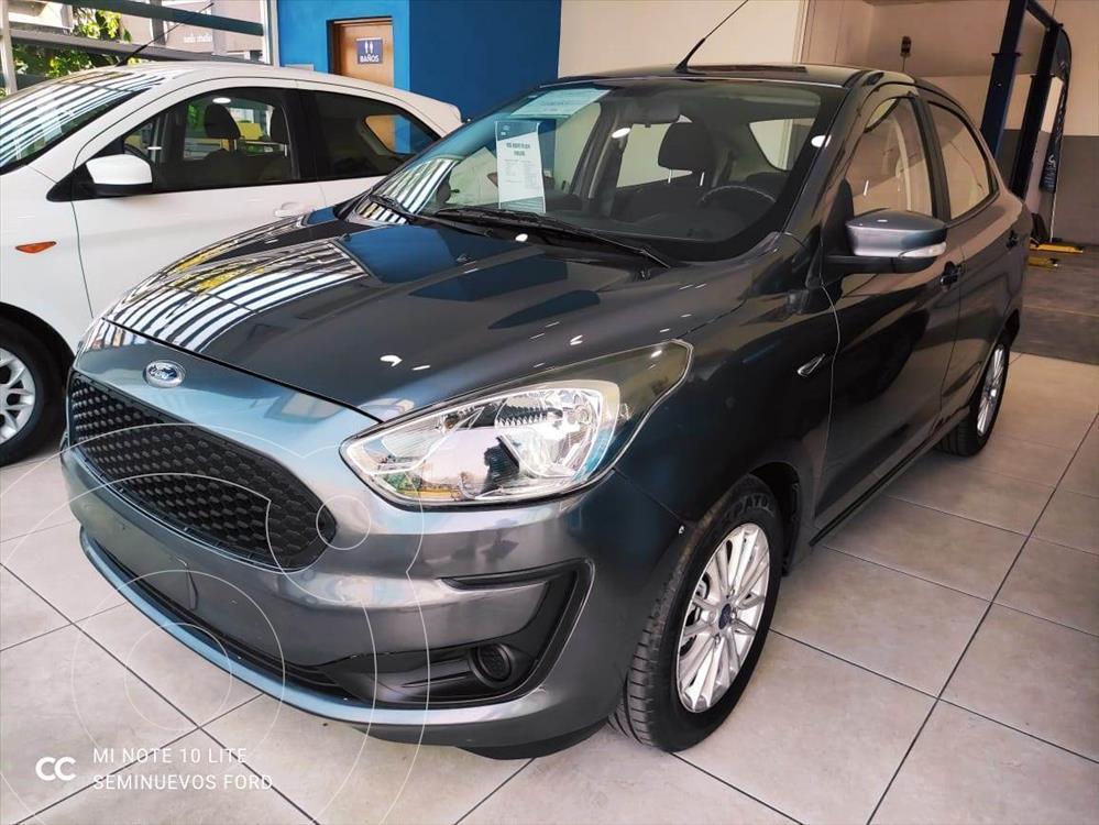 foto Ford Figo Sedán Energy usado (2019) color Gris Oscuro precio $195,000