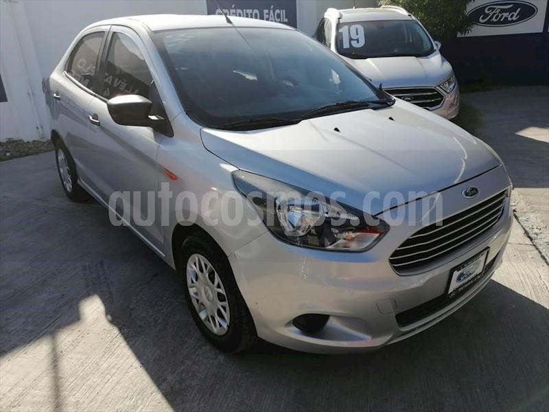 foto Ford Figo Sedán Impulse A/A usado (2018) color Plata precio $160,000