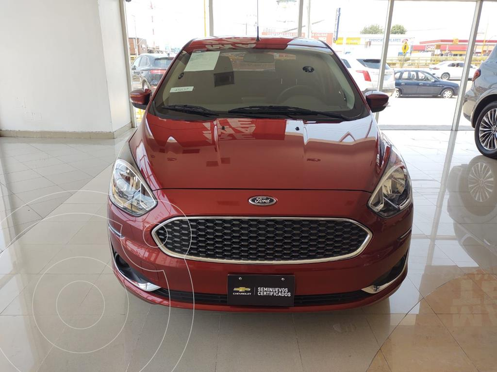 foto Ford Figo Sedán Titanium usado (2020) color Rojo precio $235,000