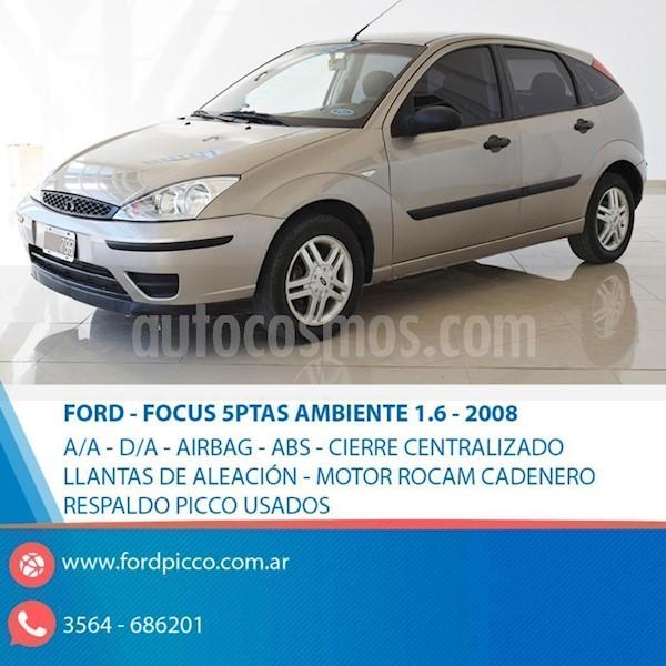 foto Ford Focus 5P 1.6L Ambiente  usado