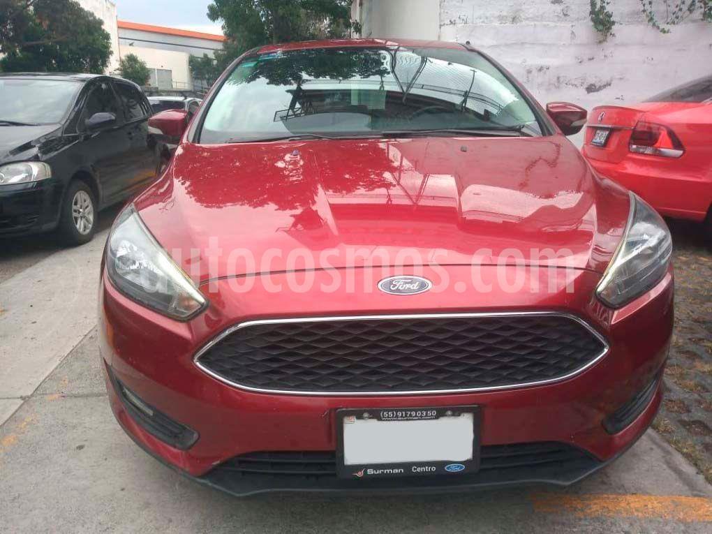 foto Ford Focus SE Luxury Aut usado (2016) color Rojo precio $179,000