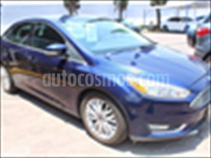 foto Ford Focus Titanium Aut usado (2016) color Azul Eléctrico precio $249,000