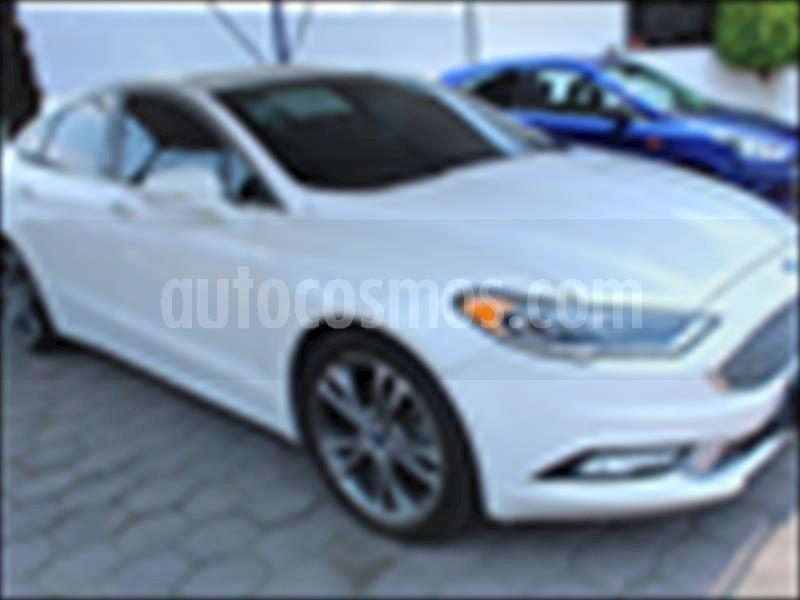 foto Ford Fusion 4P TITANIUM PLUS L4/2.0/T AUT usado (2017) color Blanco precio $350,000