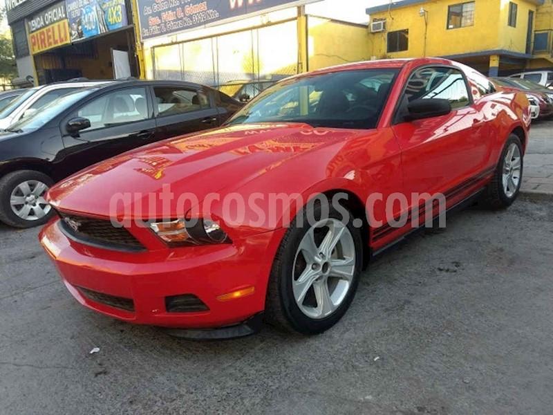 foto Ford Mustang Coupé Lujo 3.7L V6 Aut usado (2011) color Rojo precio $179,000