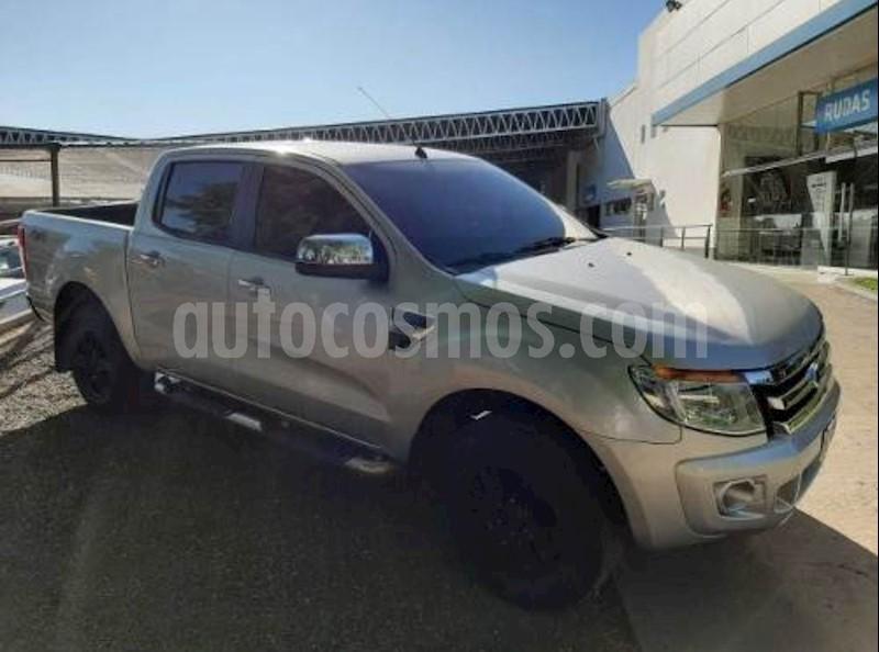 foto Ford Ranger XLT 3.2L 4x4 TDi CD usado (2013) color Gris Zinc precio $1.350.000