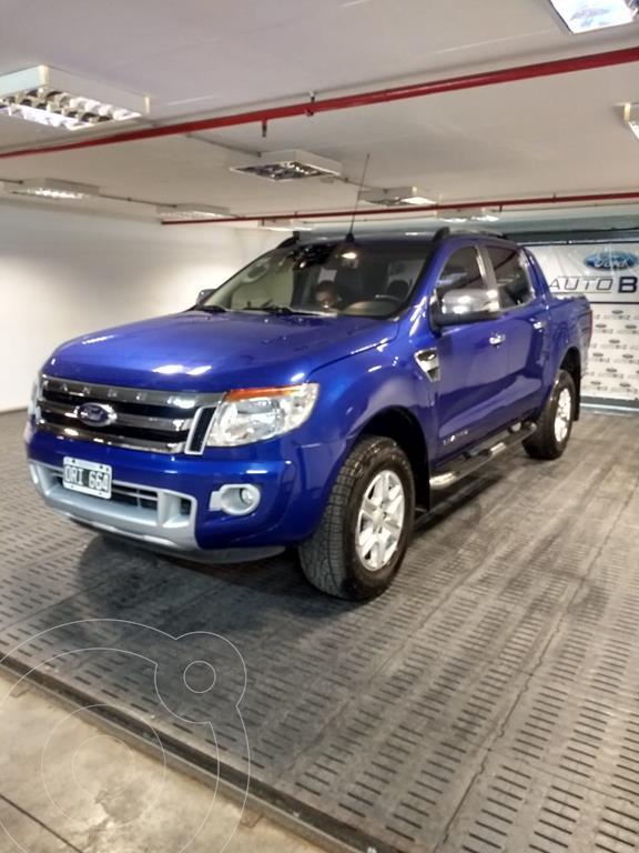 foto Ford Ranger Limited 3.2L 4x4 TDi CD Aut usado (2015) color Azul precio $2.500.000