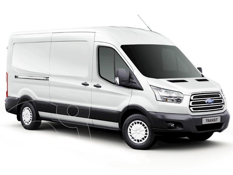 foto Ford Transit Van Larga 2.2L TDi TE usado (2020) color Blanco Oxford precio $4.100.000