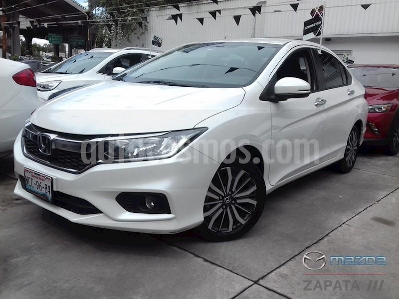 foto Honda City EX 1.5L Aut usado (2018) color Blanco Marfil precio $255,000