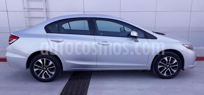 foto Honda Civic EXL 1.8L Aut usado (2013) color Plata precio $165,000