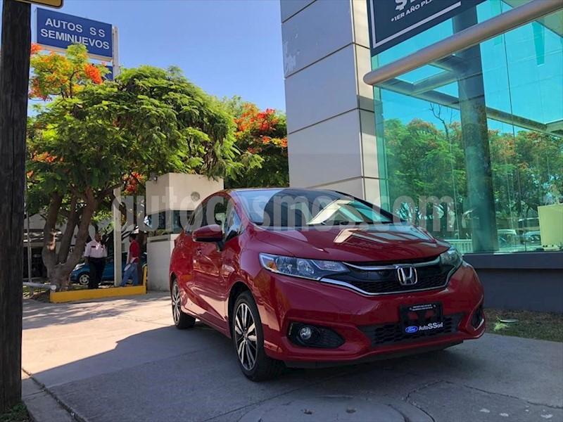 foto Honda Fit HIT CVT usado (2018) color Rojo precio $239,000