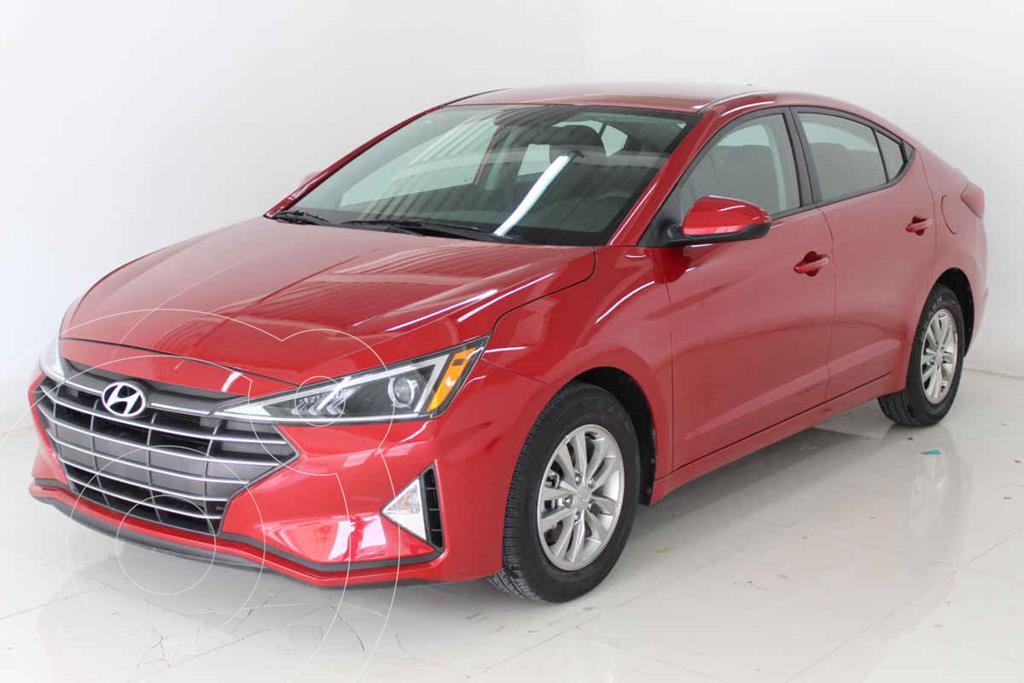 foto Hyundai Elantra GLS Aut usado (2019) color Rojo precio $309,000