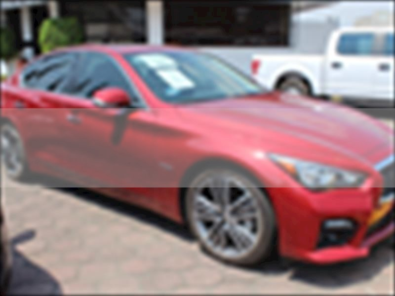 foto Infiniti Q50 Hybrid usado (2017) color Rojo precio $440,000