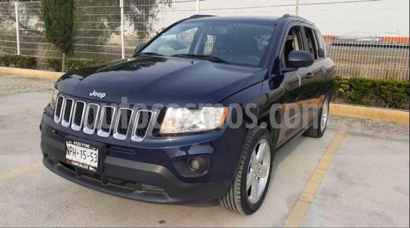 foto Jeep Compass 4x2 Limited Premium CVT  usado (2013) color Azul precio $180,000