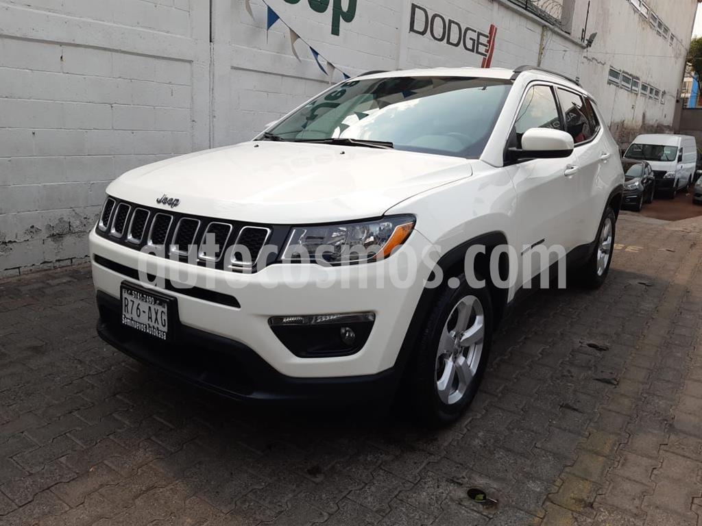 foto Jeep Compass 4x2 Latitude usado (2018) color Blanco precio $349,000