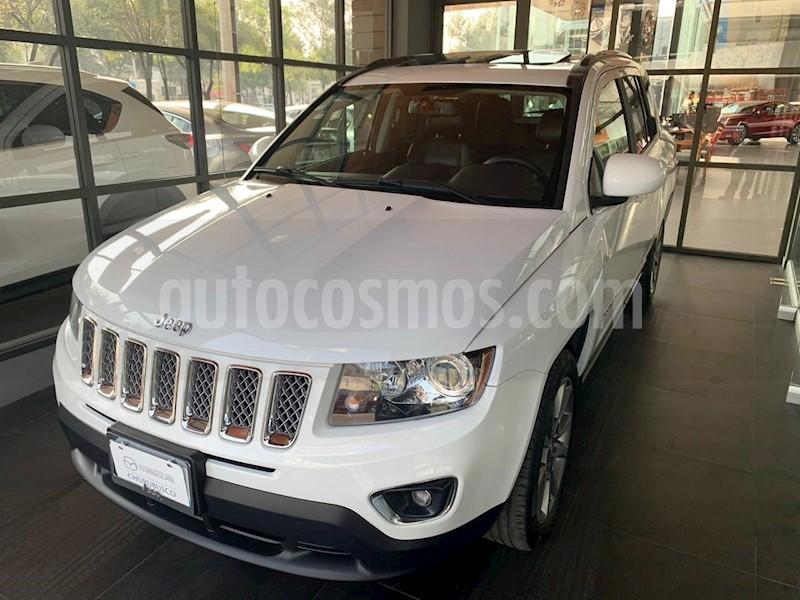 foto Jeep Compass 4x2 Limited CVT usado (2016) color Blanco precio $219,000
