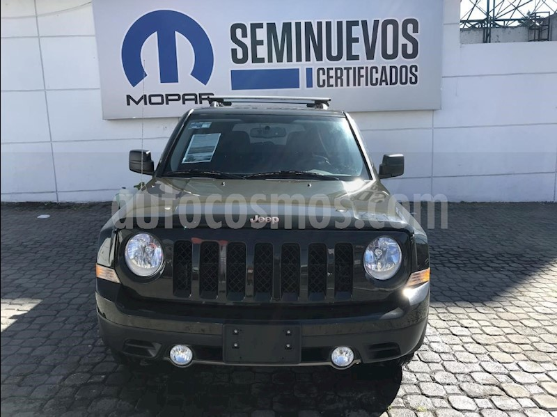 jeep patriot 4x2 edicion 75 aniversario aut usado (2017) color verde