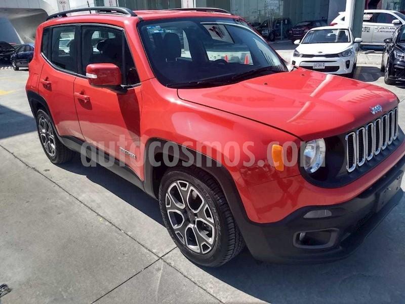 foto Jeep Renegade 4x2 Latitude Aut usado (2018) color Rojo precio $319,900