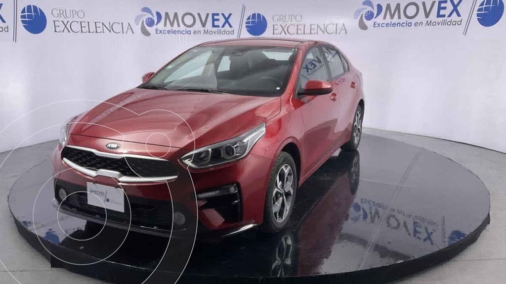 foto Kia Forte Sedán LX Aut usado (2020) color Rojo precio $273,000