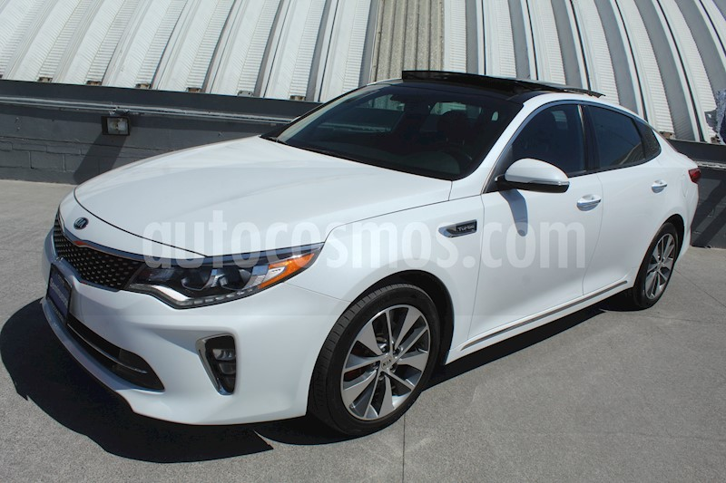 foto Kia Optima 2.0L Turbo GDI SXL usado (2018) color Blanco Perla precio $319,000