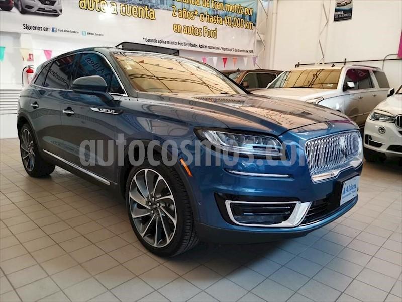 foto Lincoln MKX RESERVE usado (2017) color Azul Marino precio $460,900