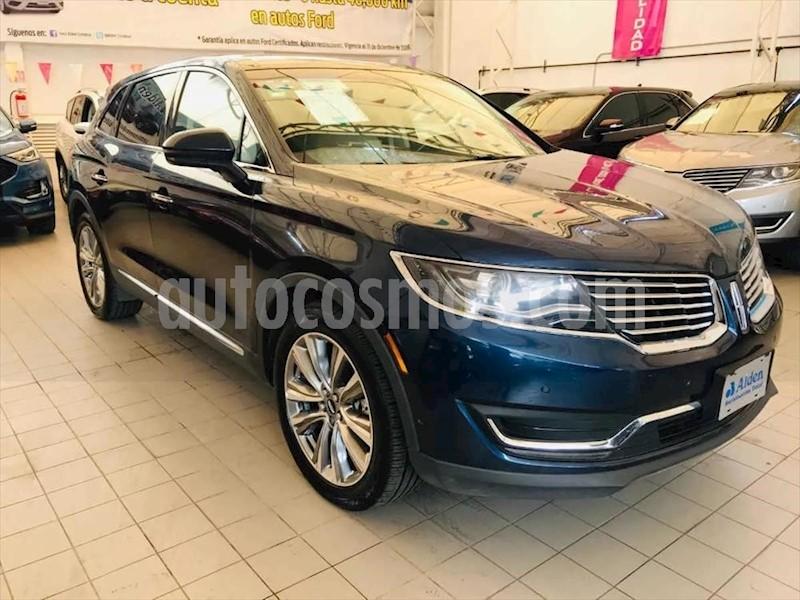 foto Lincoln MKX RESERVE usado (2017) color Azul Marino precio $510,900