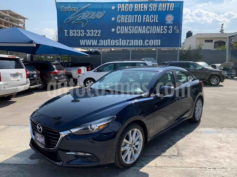 foto Mazda 3 Hatchback s Grand Touring Aut usado (2018) color Azul precio $299,900