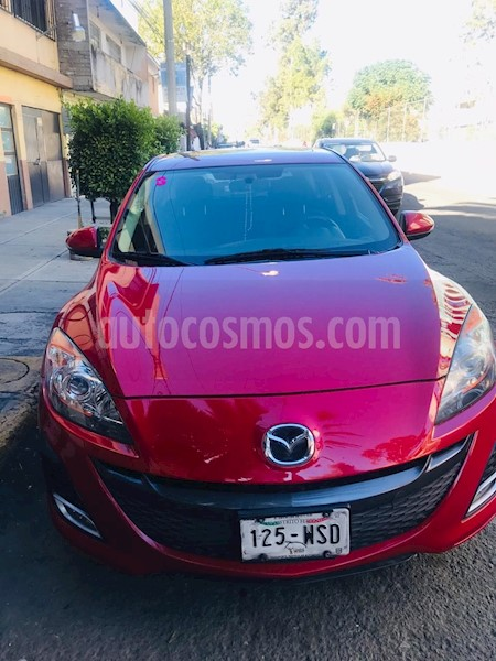 mazda 3 hatchback s grand touring aut usado 2010 color rojo precio 125 000. Black Bedroom Furniture Sets. Home Design Ideas