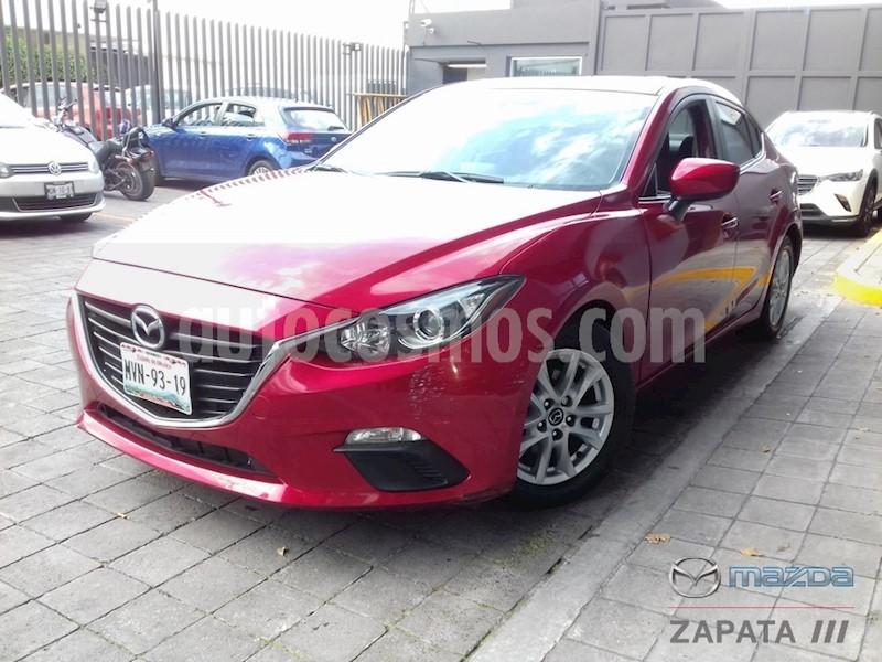 foto Mazda 3 Sedan i Touring Aut usado (2016) color Rojo precio $210,000