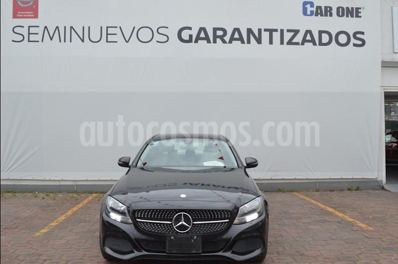 foto Mercedes Benz Clase C 200 CGI Coupé Aut usado (2016) color Negro precio $299,900