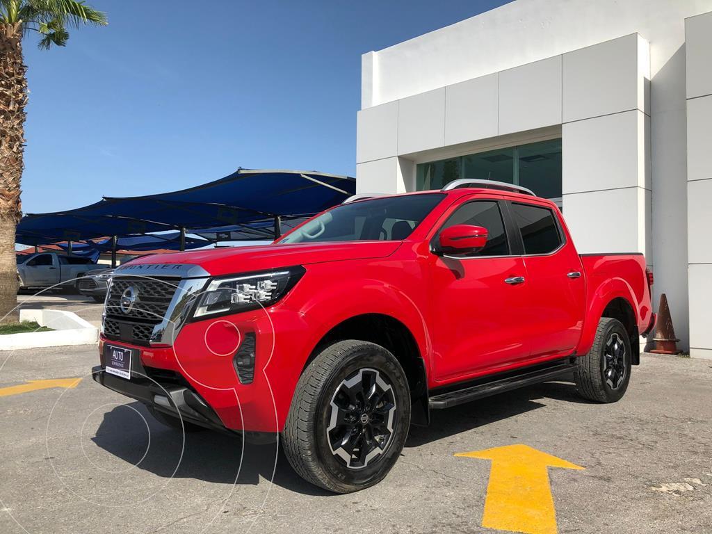 foto Nissan Frontier  LE Aut Platinum usado (2021) color Rojo precio $609,500