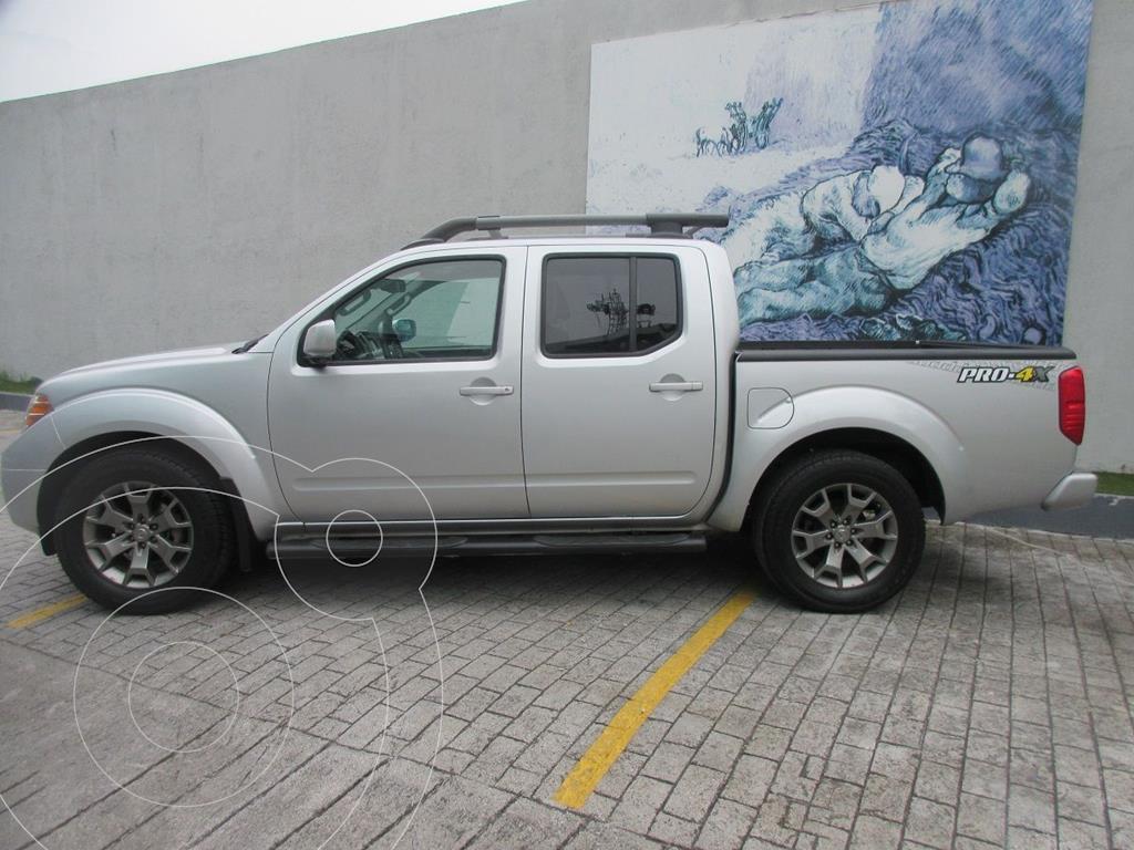 foto Nissan Frontier  XE 3.3L 4x2 Aut usado (2016) color Plata Dorado precio $369,000