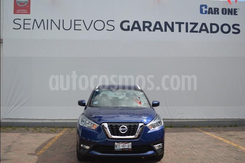 foto Nissan Kicks Advance Aut usado (2017) color Azul precio $249,900