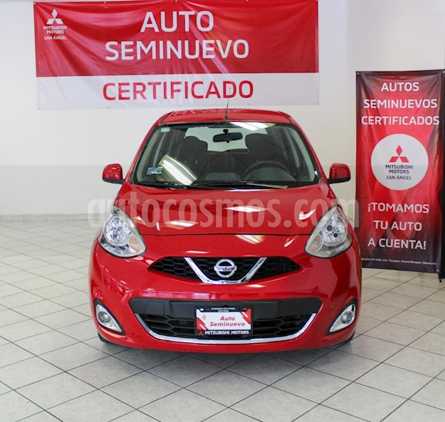 foto Nissan March Advance usado (2018) color Rojo precio $140,000
