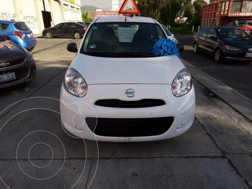 foto Nissan March ACTIVE TM usado (2020) color Blanco precio $170,000