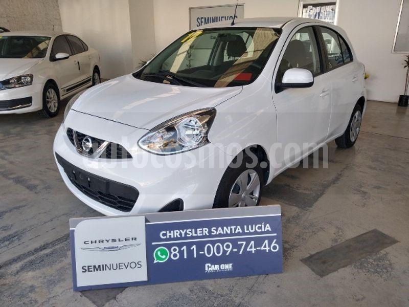 foto Nissan March Sense  Aut usado (2017) color Blanco precio $170,000