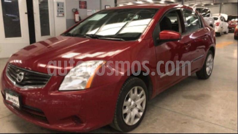 foto Nissan Sentra 4p Custom L4/2.0 Aut usado (2011) color Rojo precio $110,000