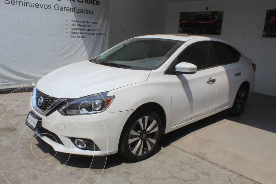 foto Nissan Sentra Exclusive Aut NAVI usado (2017) color Blanco precio $247,000