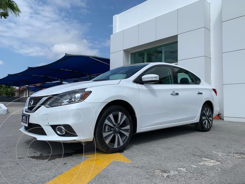foto Nissan Sentra Exclusive Aut usado (2019) color Blanco precio $417,000