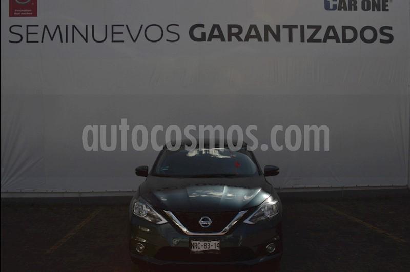 foto Nissan Sentra Advance Aut usado (2017) color Azul precio $209,900