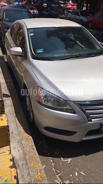Nissan Sentra Sense Aut usado (2014) color Plata precio ...